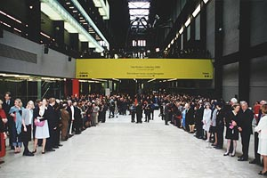 archive journeys tate history the buildings tate modern opening tate