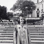 Barbara Reise on graduation day