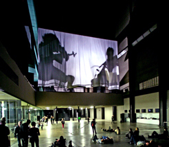 Tony Conrad performance, Tate Modern