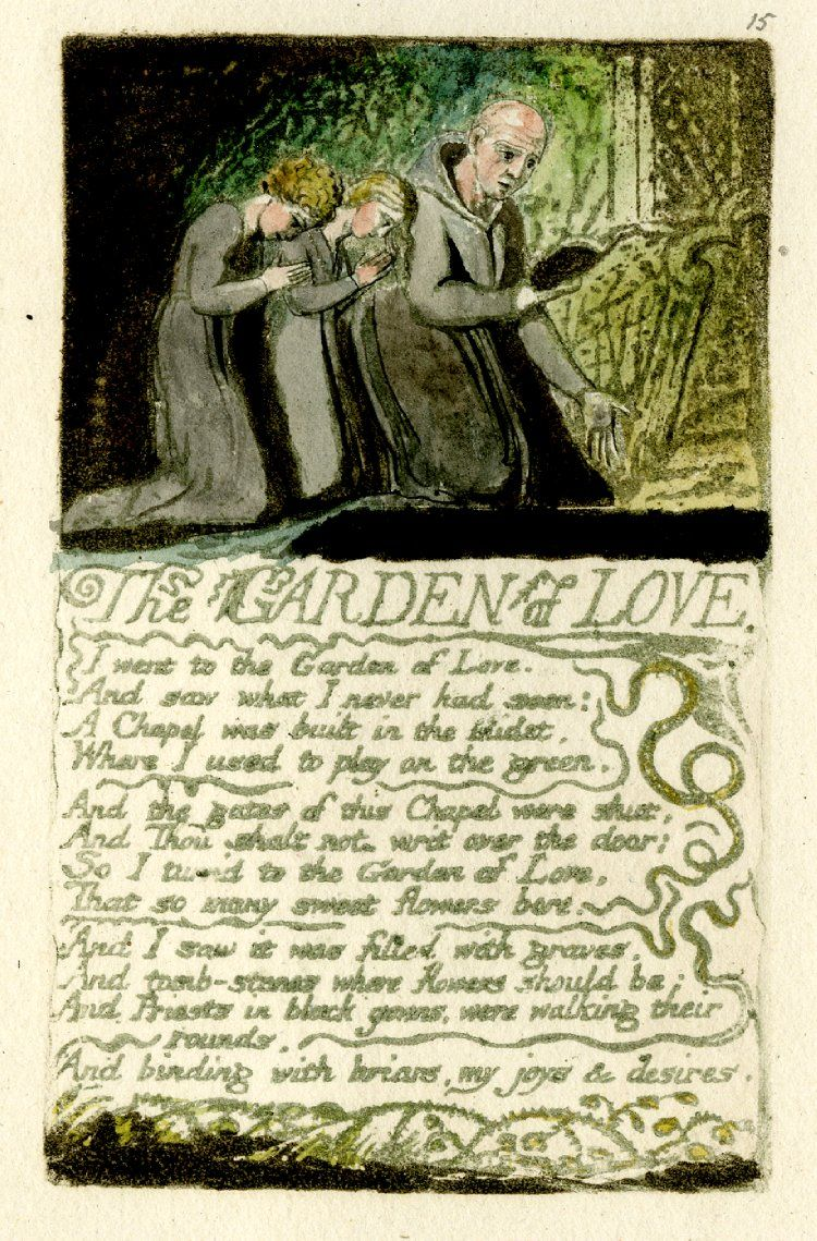 Songs of Experience: Garden of Love | Tate