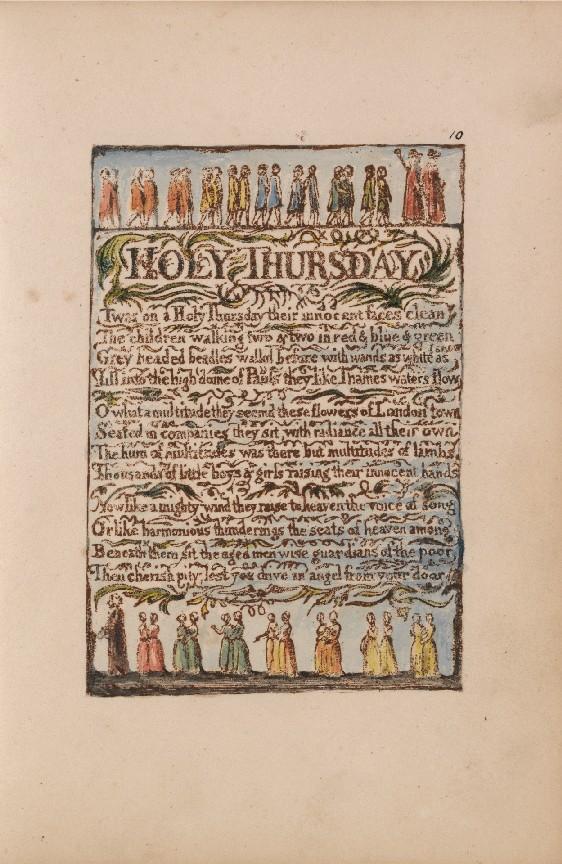 Songs of Innocence: Holy Thursday   Tate