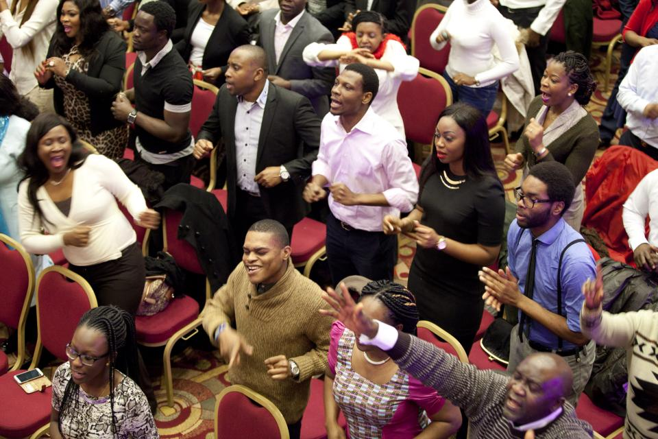 Image result for pictures of an African congregation