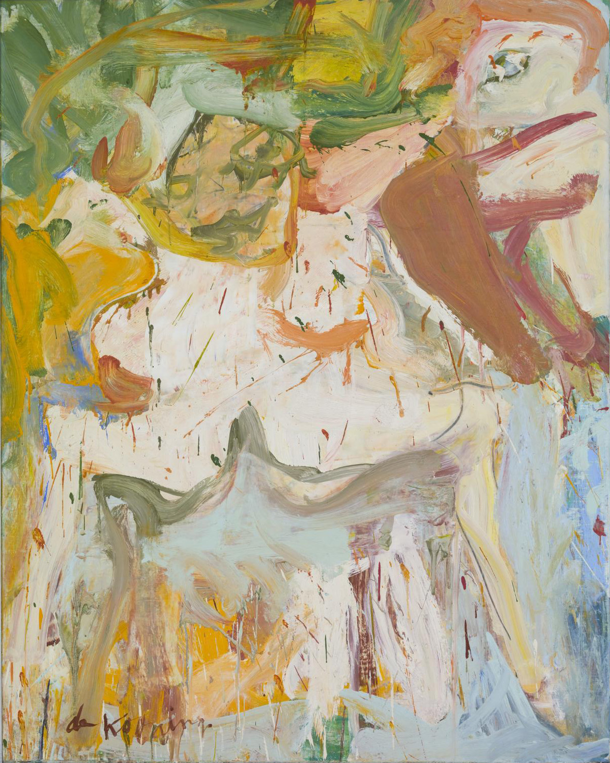 de kooning s embodied vision and abstract expressionism in the willem de kooning the 1966 7