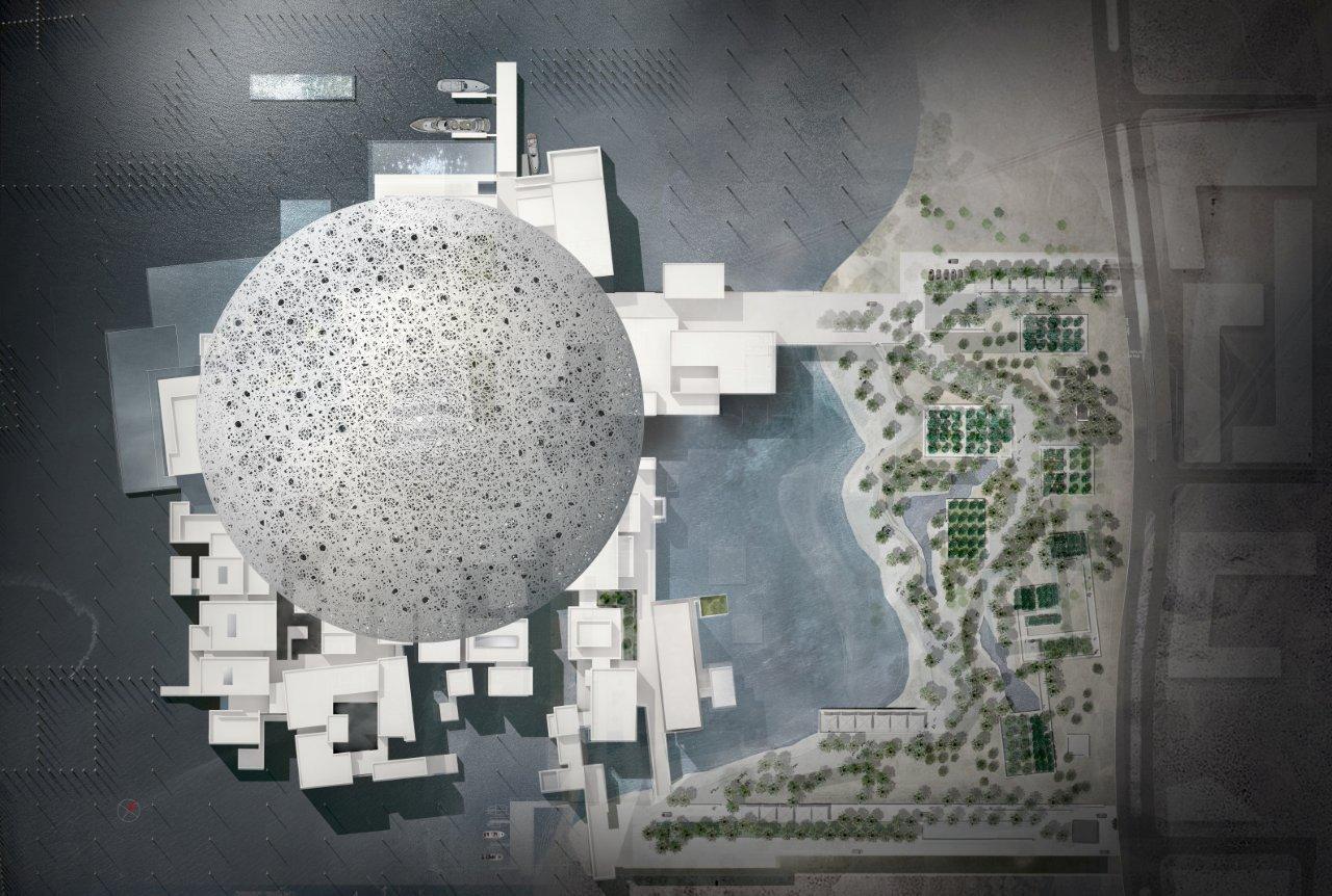 A Plan Of The Forthcoming Louvre Abu Dhabi