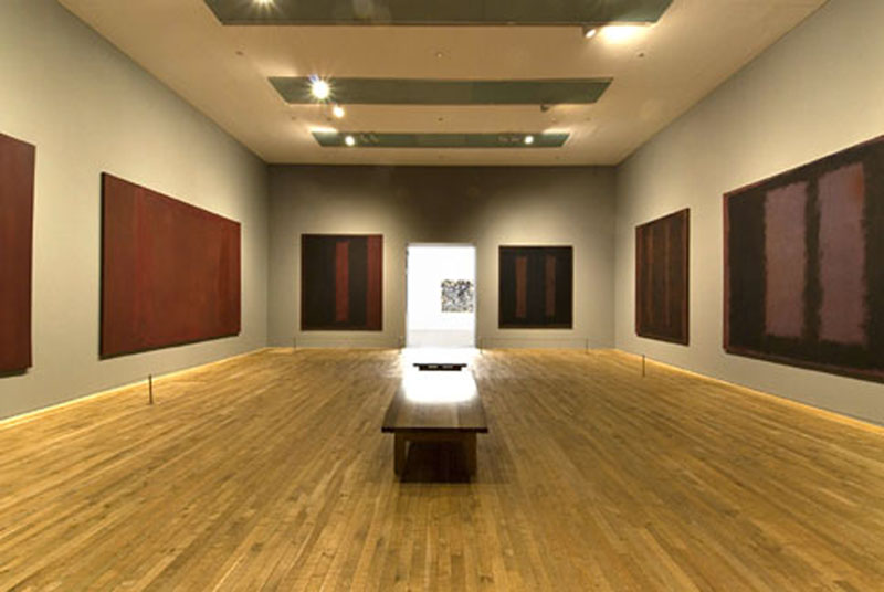 The Rothko Room  Tate Modern. Temple of mysteries   Tate
