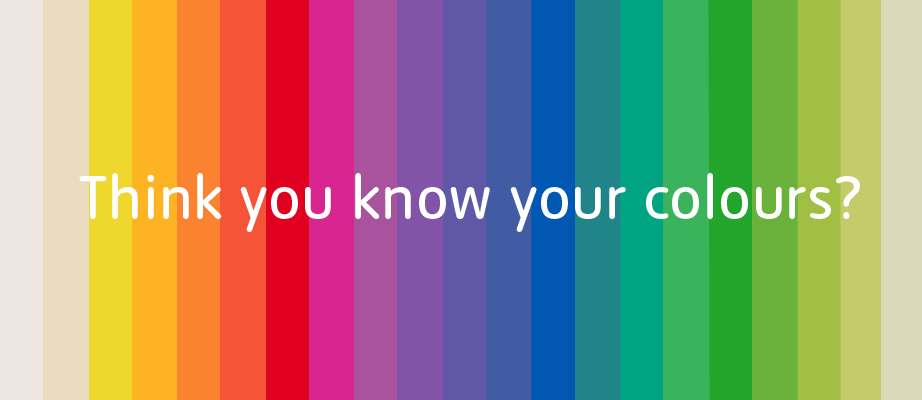 know your art take the colour quiz tate