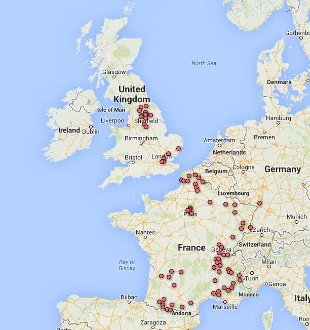 Map Of Uk France.Map Of Uk France Twitterleesclub