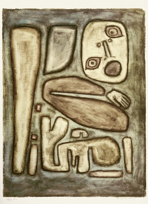 Paul Klee Outbreak of Fear III, 1939 © Zentrum Paul Klee, Bern