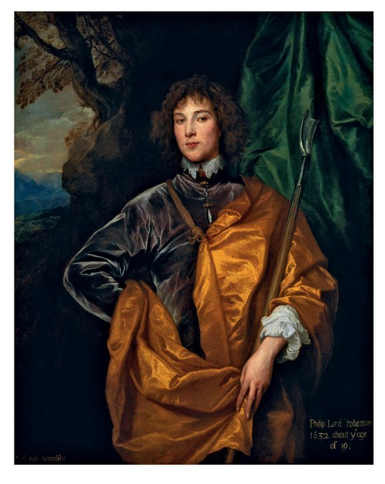 Anthony van Dyck Philip Lord Wharton circa 1632