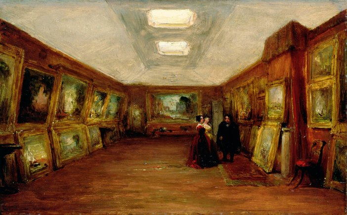 George Jones Interior of Turners Gallery circa 1852