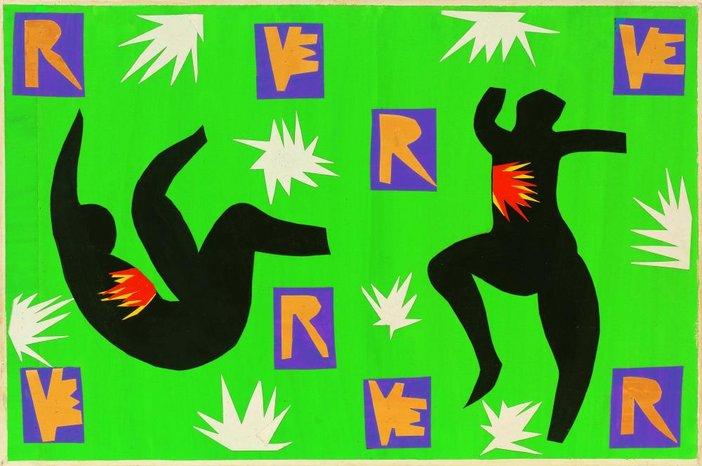 Henri Matisse, design for cover of Verve IV 1945