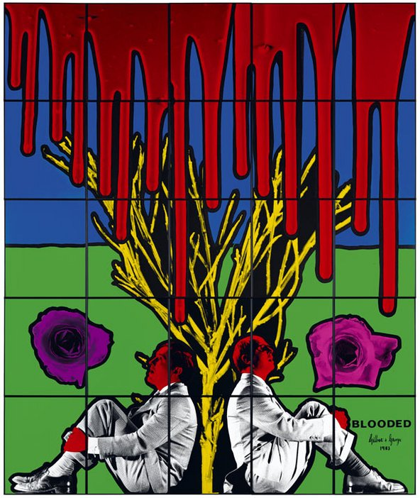 Gilbert & George, Blooded 1983
