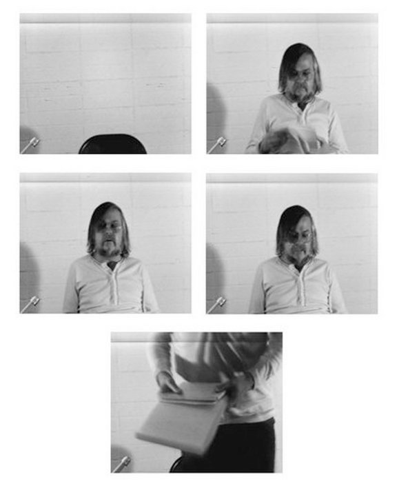 John Baldessari Stills from Baldessari Sings LeWitt 1972