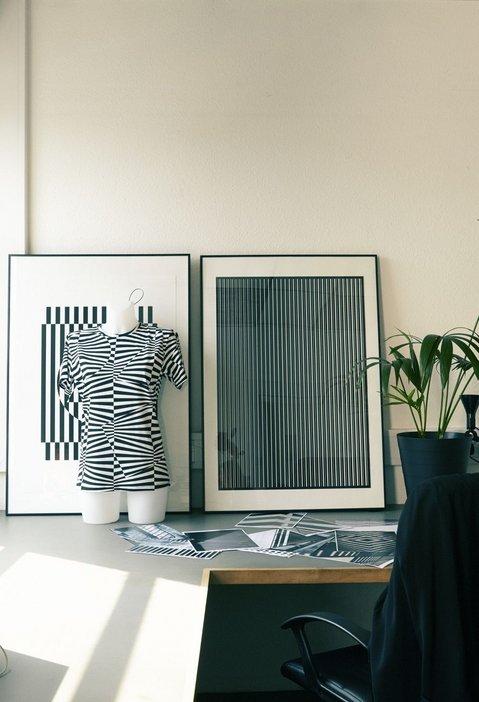 Screenprint designs and tshirt in Patternity studio