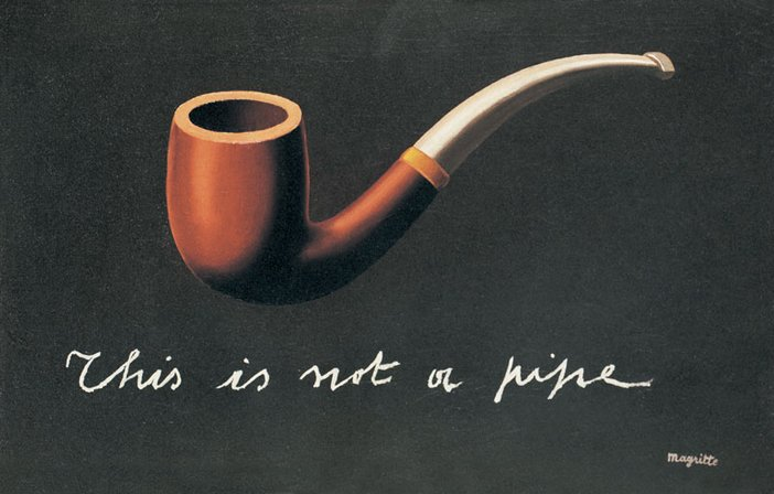 Magritte The Treachery of Images Pipe