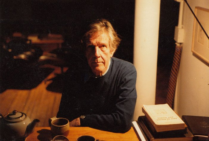 Audio Arts Volume 6 Nos 2 and 3 Archive material 2 showing a photograph of John Cage sitting at a table