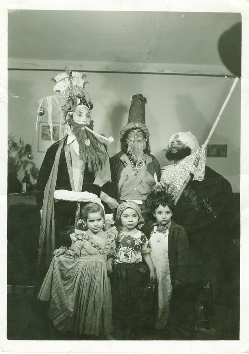 Kati Horna, The Three Kings, Mexico