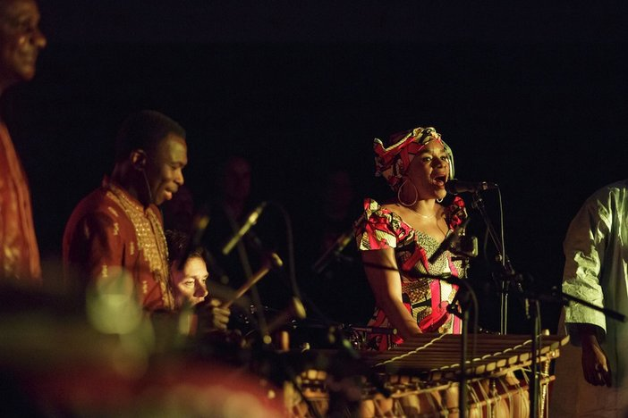Africa Express performance at Tate Modern