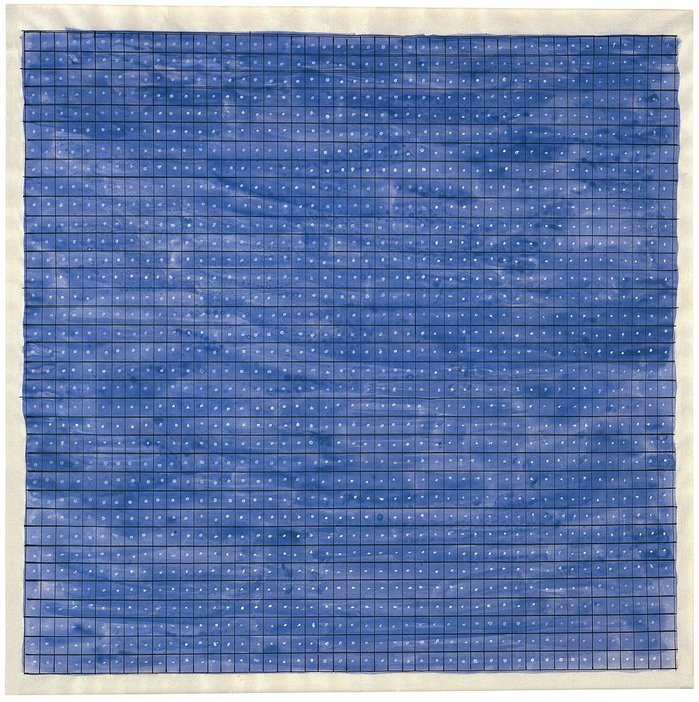 Agnes Martin Untitled 1965