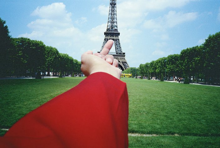Ai Weiwei A Study of Perspective  Eiffel Tower 1995 to 2003