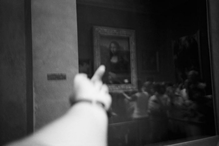 Ai Weiwei Study of Perspective Mona Lisa 1995 to 2003