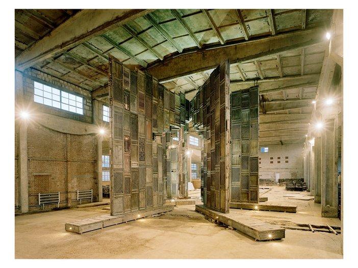 Ai Weiweis Template in his studio Beijing 2007