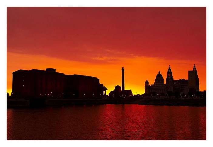 Albert Dock sunset