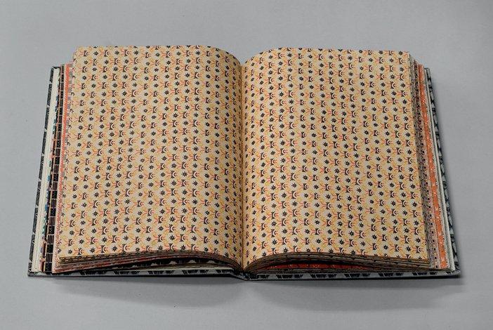 Albert Rutherston Curwen Press pattern book 1928