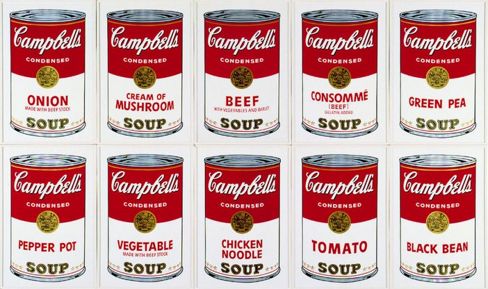 Andy Warhol, Campbell's Soup I 1968