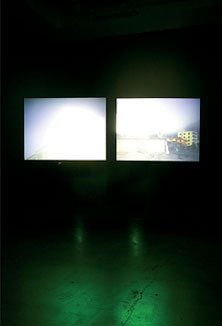 Anri Sala Blindfold 2002 Double projection DVD