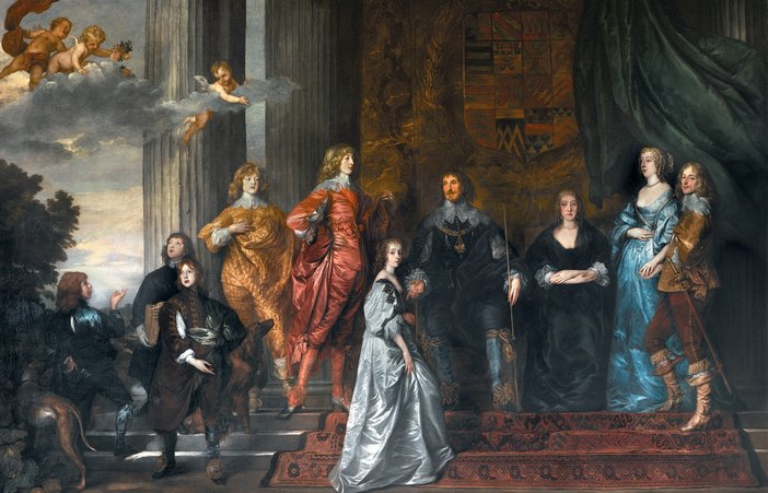 Anthony van Dyck Philip Herbert fourth Earl of Pembroke with his Family circa 1635