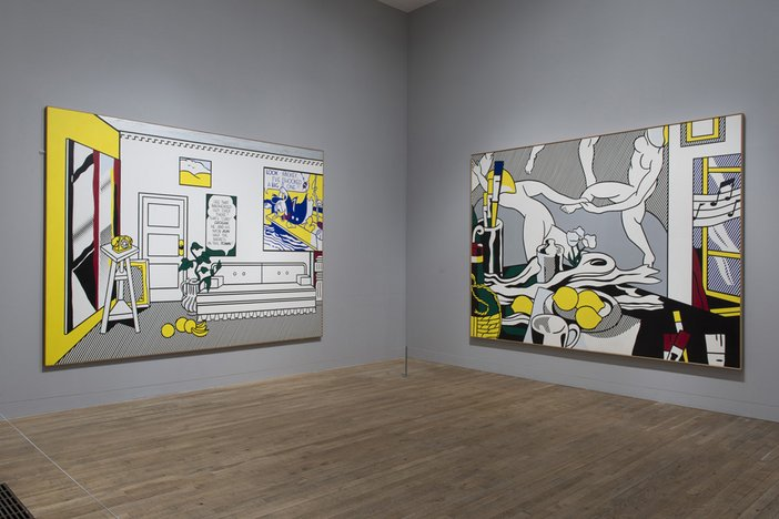 Roy Lichtenstein Artist's Studio 'The Dance' 1974