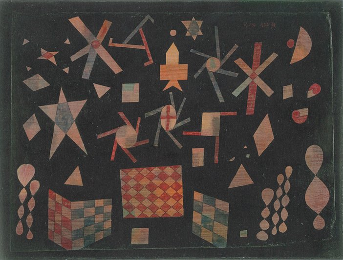 Paul Klee Assyrian game 1923 courtesy Zentrum Paul Klee, Bern