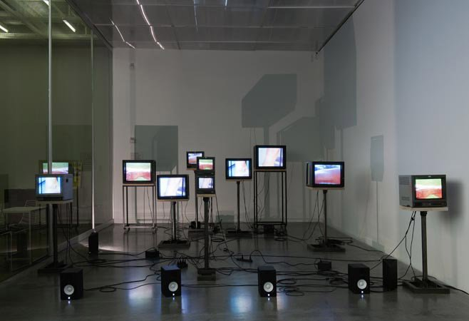 Charles Atlas Joints Array, New Museum, 2011 Photo by Benoit Pailley