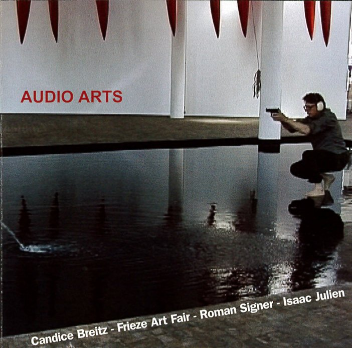 The front cassette inlay from Audio Arts Volume 22 Number 1 showing the CD index including the Frieze Art Fair