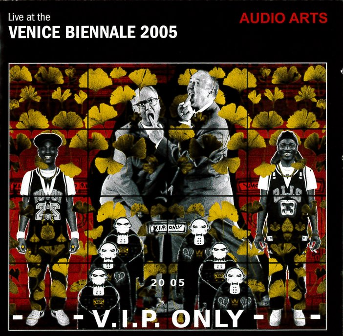The front CD inlay from Audio Arts Volume 24 Number 1 showing the title Venice Biennale 2005
