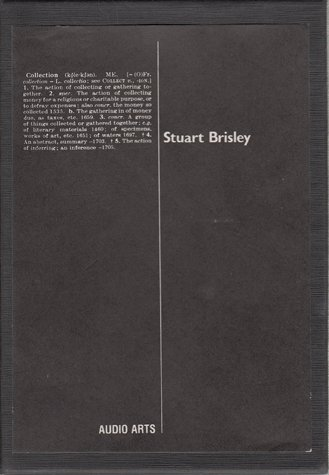 Audio Arts Stuart Brisley Georgiana Collection Inlay 1