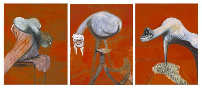 Francis Bacon Three Studies for Figures at the Base of a Crucifixion