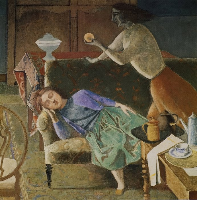 Balthus (Baltusz Klossowski de Rola) The Golden Fruit 1956