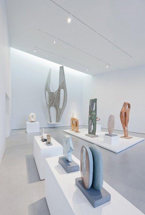 Barbara Hepworth Installation view, The Hepworth Wakefield one