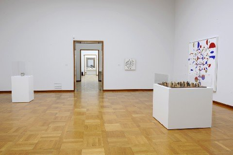 Installation view at Kunstmuseum Basel