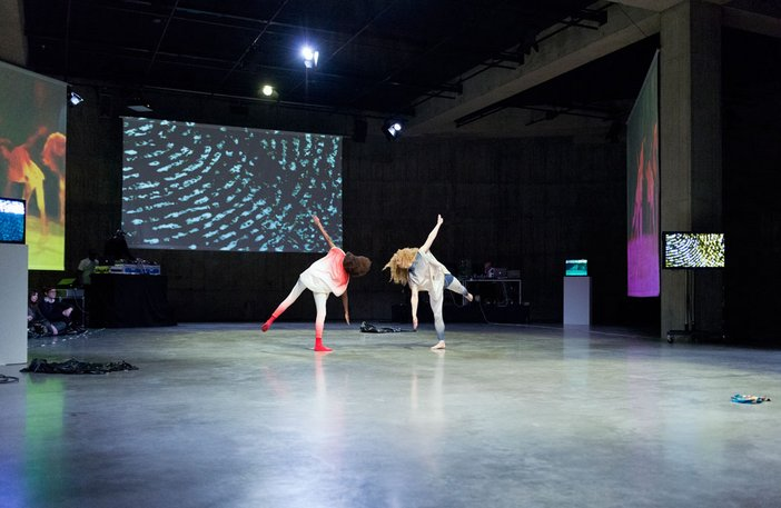 Charles Atlas with Cecilia Bengolea and François Chaignaud, Performance as part of Charles Atlas and Collaborators, 2013