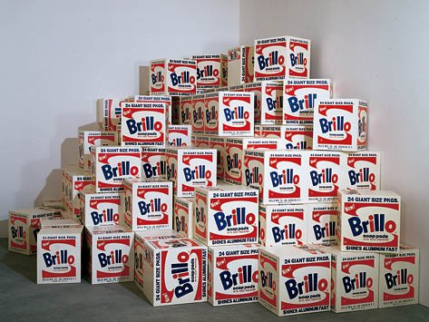 Mike Bidlo Not Warhol Brillo Boxes 1969 1991 Acrylic On Wood 51 X
