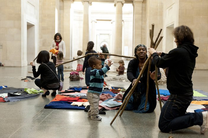 Big and Small family event at Tate Britain