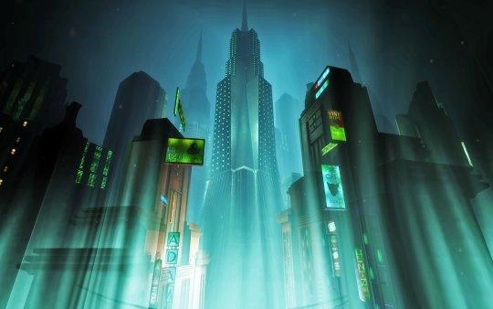 Art direction in video games Bioshock