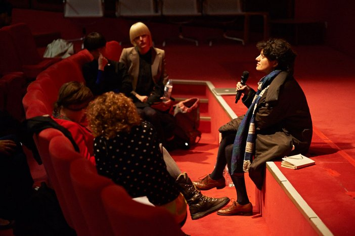 Bojana Cvejić and Christine De Smedt, Spatial Confessions: Speaking Part 2014