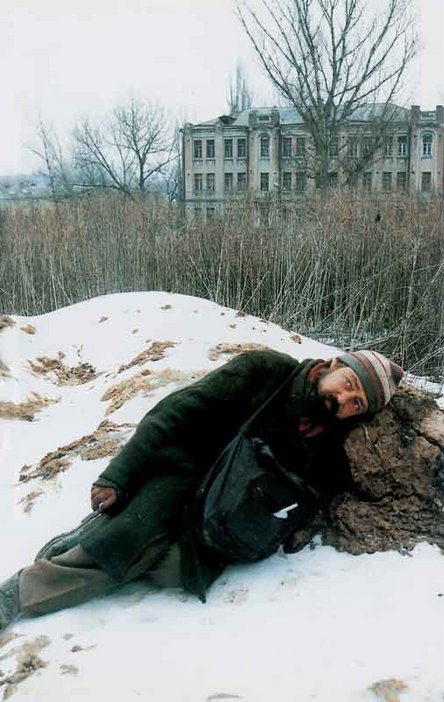 Boris Mikhailov From the series Case History 1999