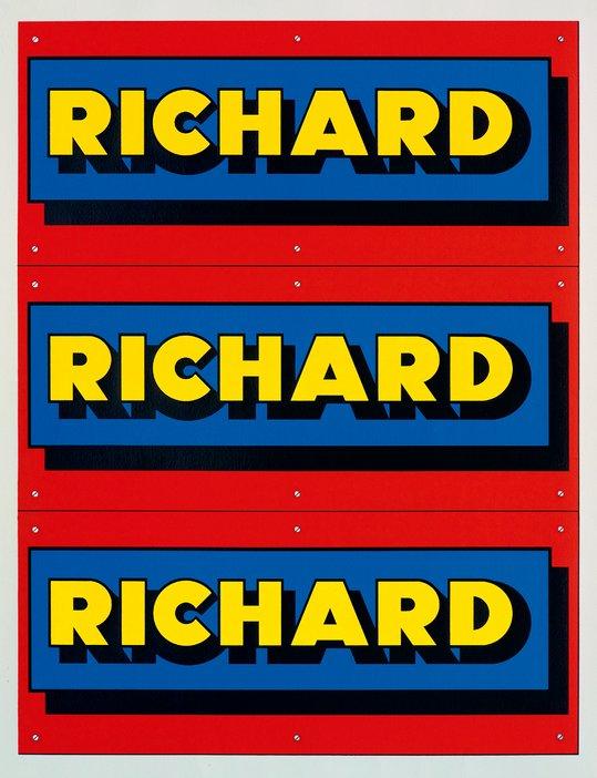 Richard Hamilton, Advertisement 1975