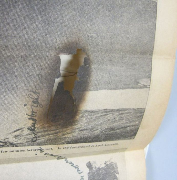Ian Breakwell Burn: Tate Archives conservation image
