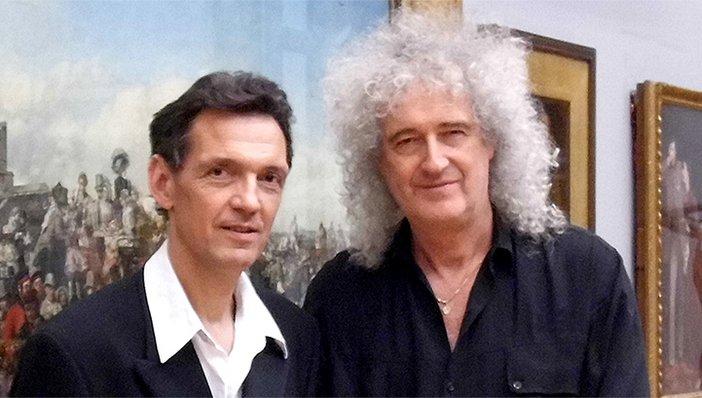Denis Pellerin and Brian May
